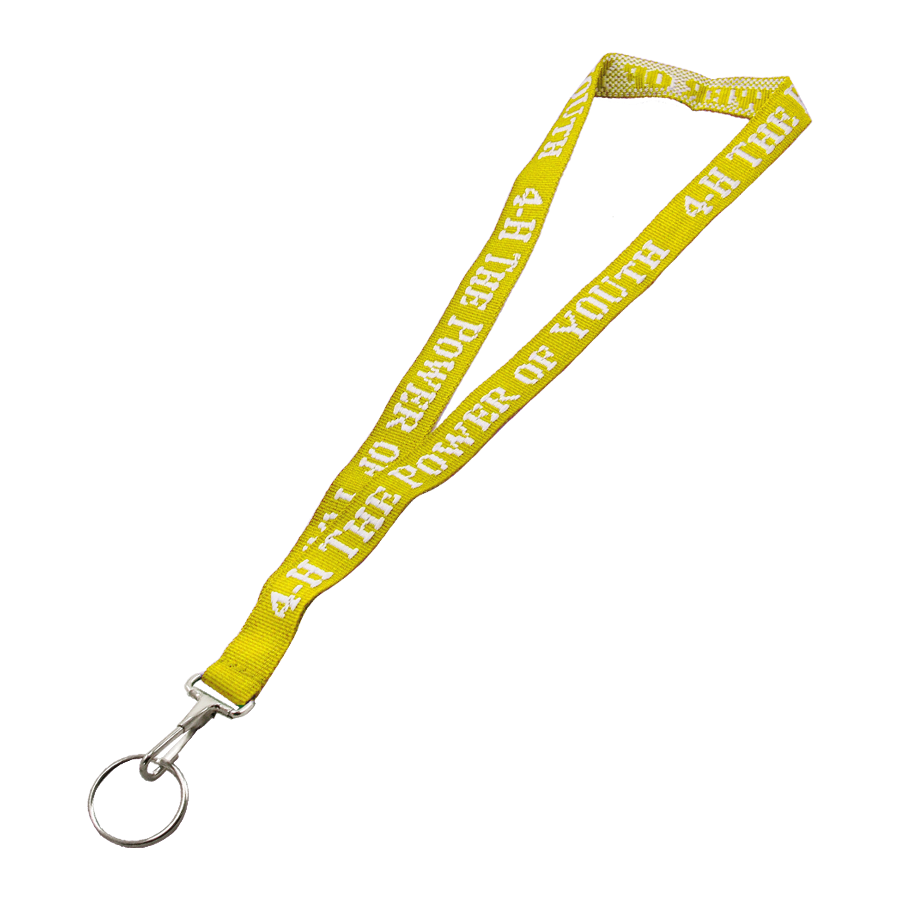 Power of YOUth Lanyard - Yellow