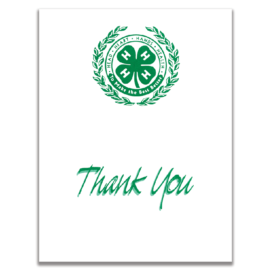 Thank You Notes (Pack of 25)