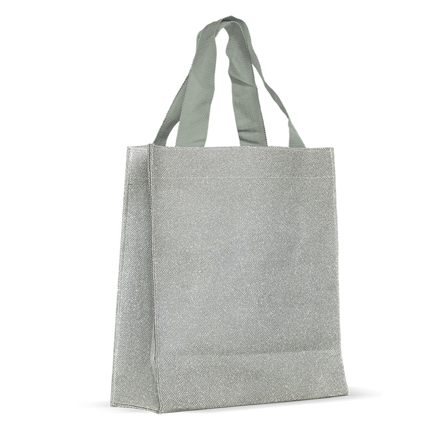 Silver Gifting and Reusable Bag