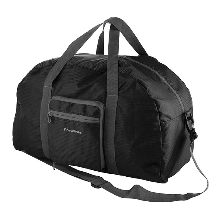 35L Black Folding Duffel