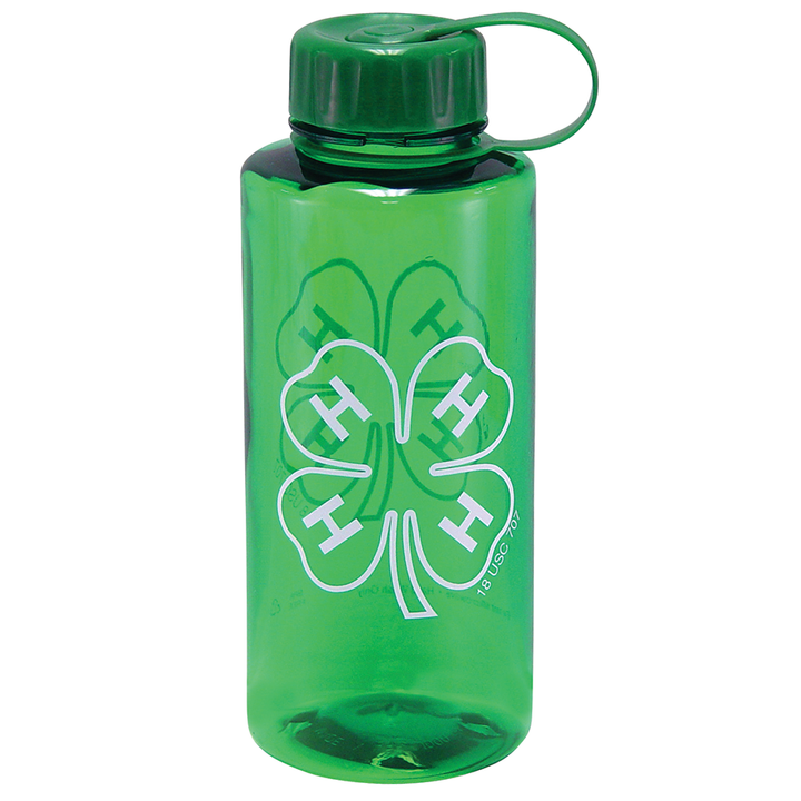 4-H Green Sports Bottle