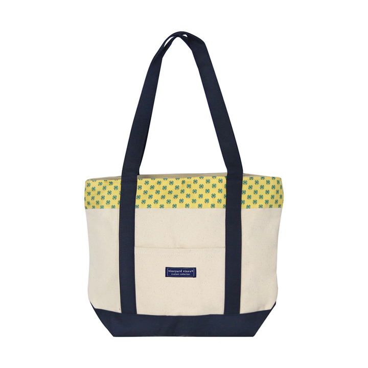 Vineyard Vines Yellow Classic Tote