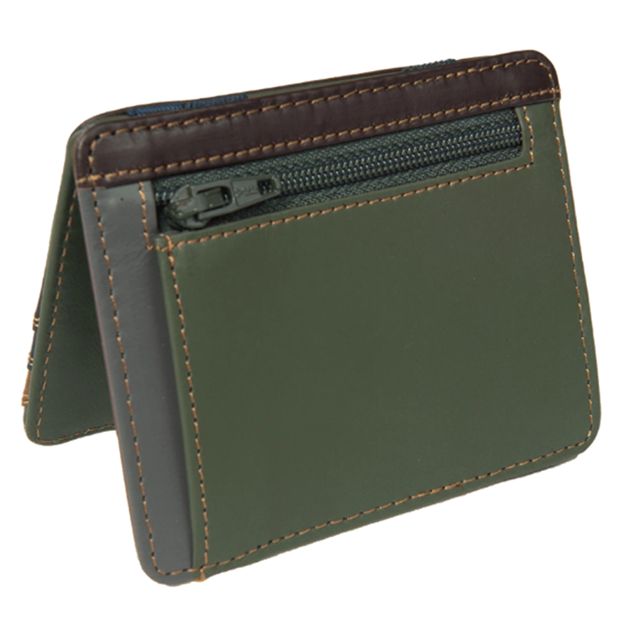 Magic Wallet With Clover Logo