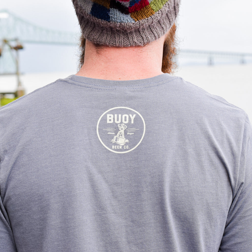 Buoy Refillable Bottle Squid Tee