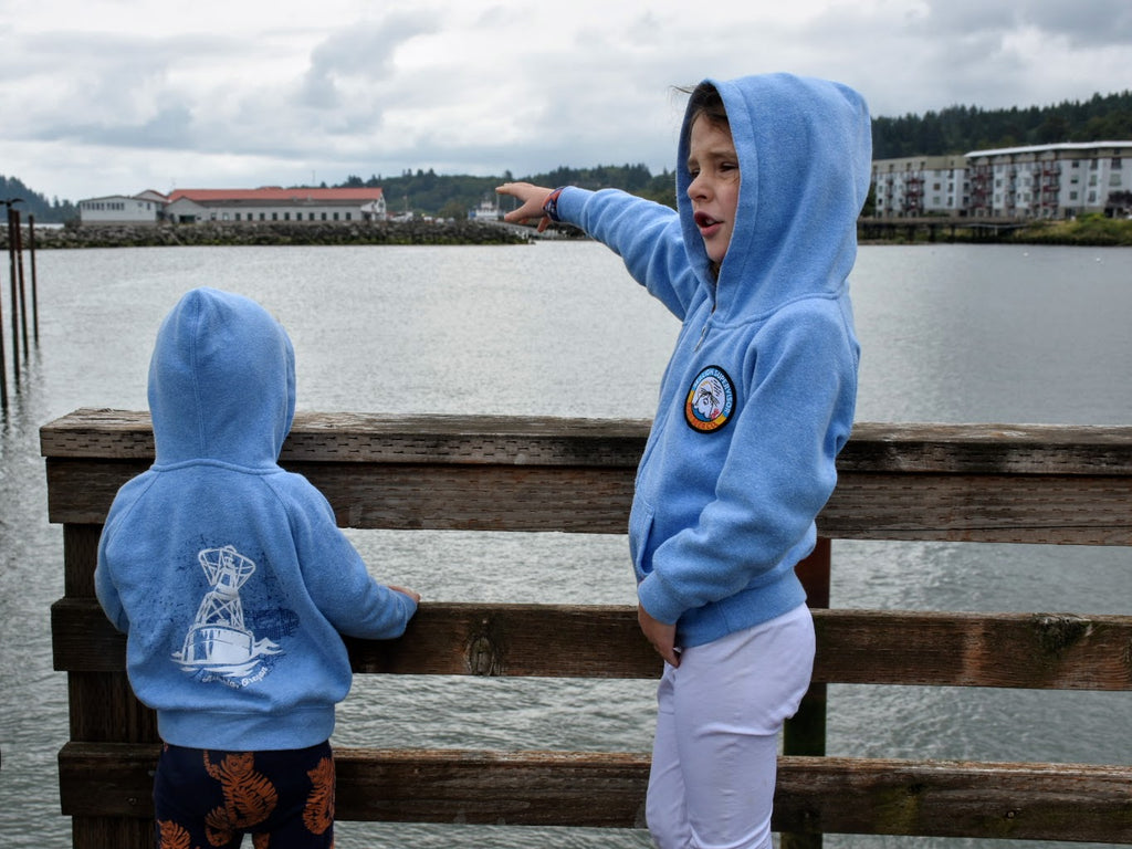 Kid's Sea Lion Zip Hoodie