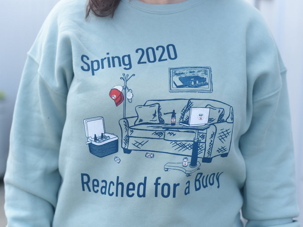 Spring 2020: Reached For A Buoy Pullover - PREORDER