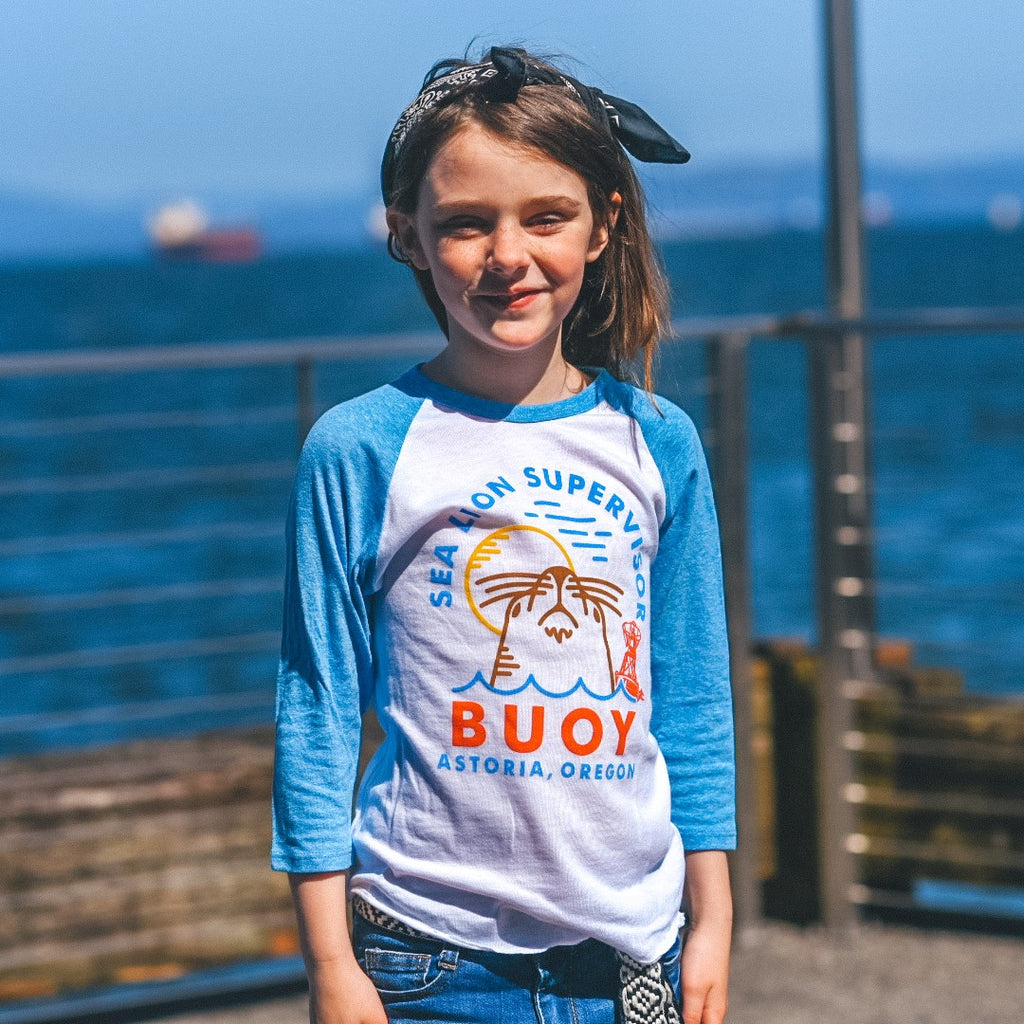 Kid's Sea Lion Supervisor Tee