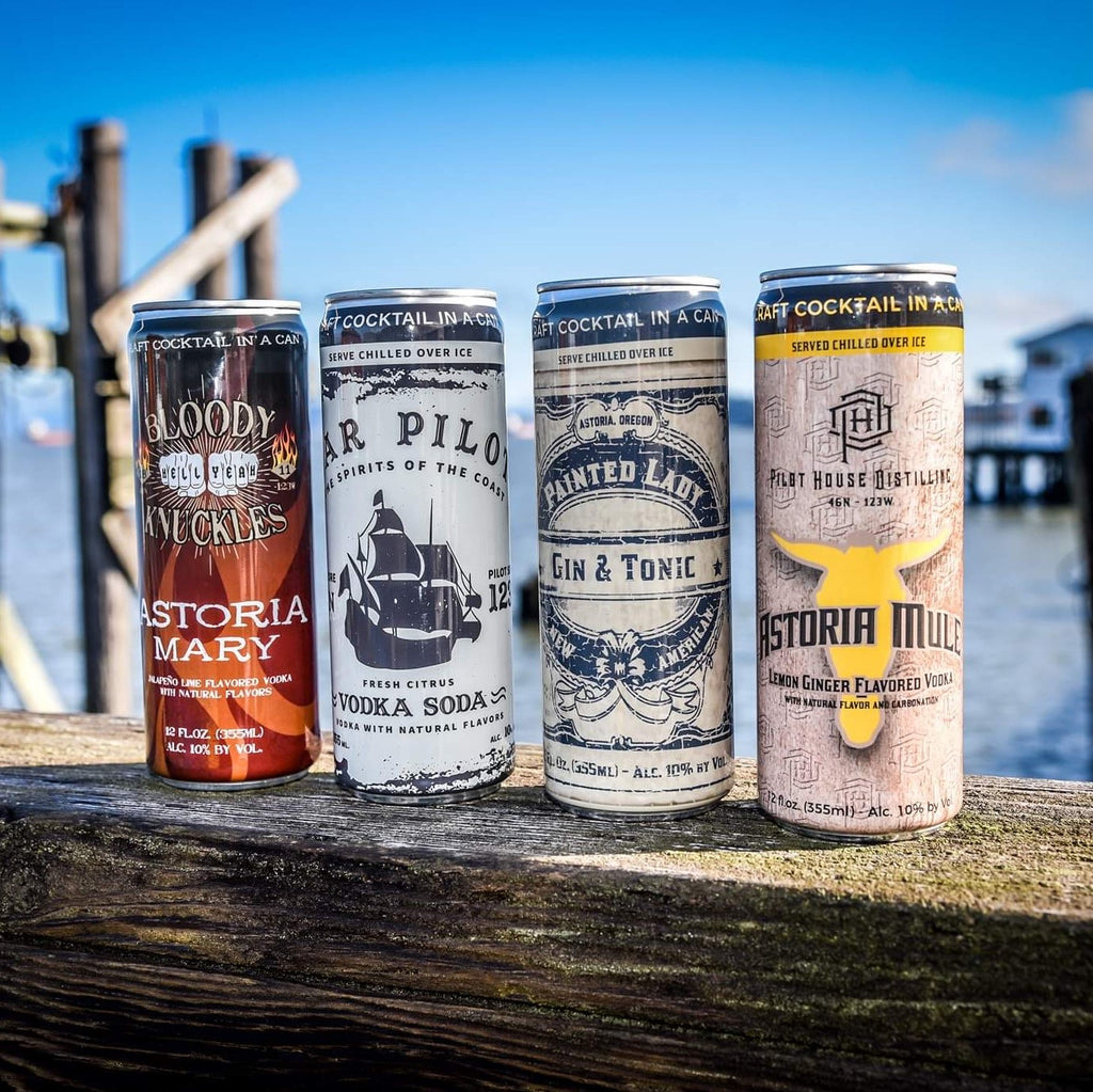 Pilot House Distilling Canned Cocktails