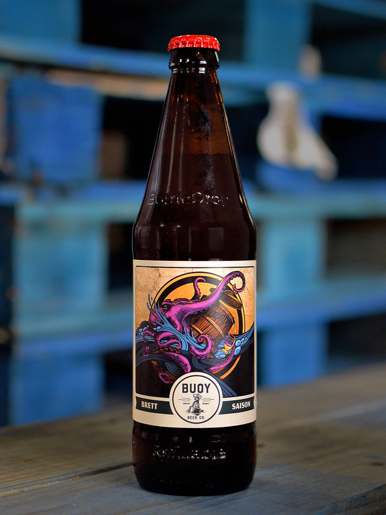 Brett Saison Foeder Beer series - 500ml refillable bottle
