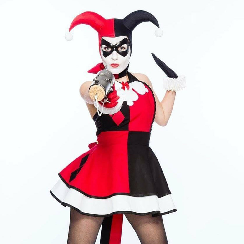 Heroes of Cosplay Scruffy Rebel Harley Quinn Costume for Women by Bambino Amore
