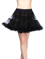 Accessorize Your Bambino Amore Apron with this Layered Tulle Black Petticoat from Leg Avenue
