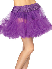 Accessorize your Bambino Amore Apron with this Layered Tulle Petticoat Purple from Leg Avenue