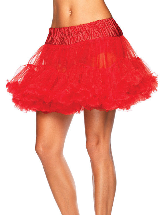 Accessorize your Bambino Amore Apron with this Red Layered Tulle Petticoat from Leg Avenue