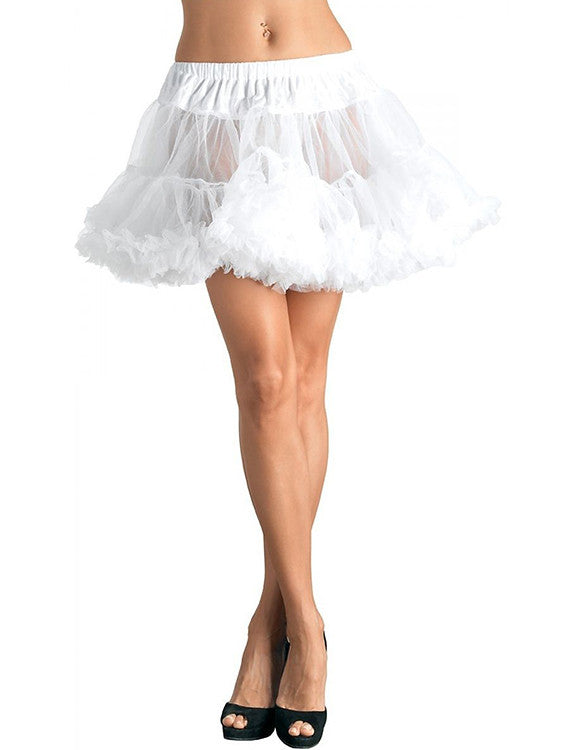 Accessorize Your Bambino Amore Apron with this White Layered Tulle Petticoat from Leg Avenue