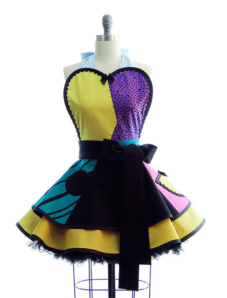 Halloween Sally Costume Apron by Bambino Amore
