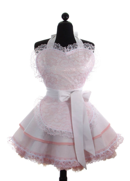 Pink French Maid Apron