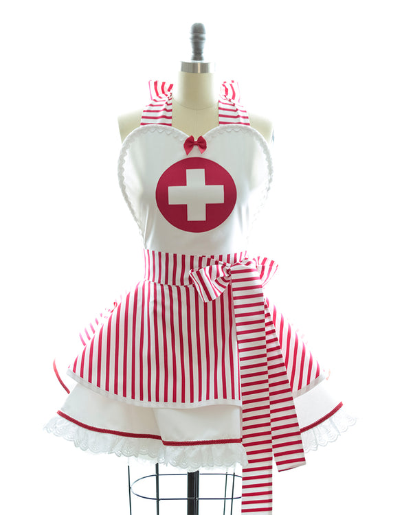 Retro Nurse Apron