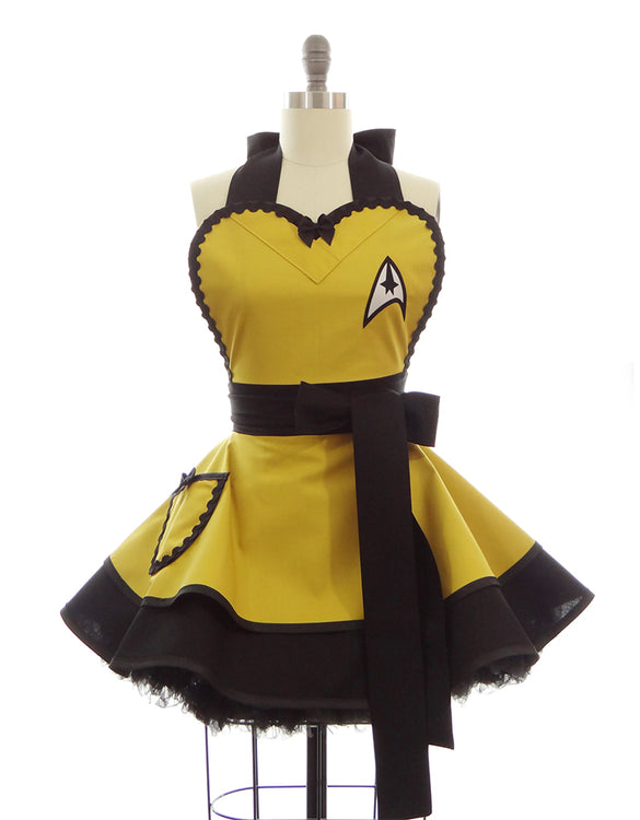 Yellow Trekkie Command Apron