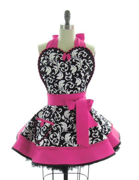 Hot Pink Parisian Apron