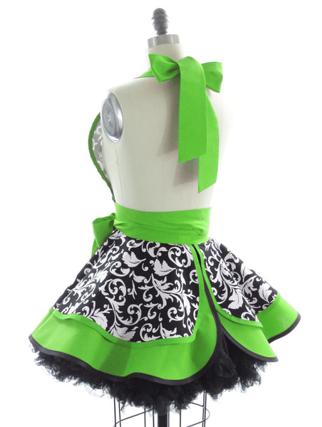 Sour Apple Parisian Apron