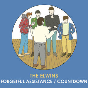 The Elwins - Forgetful Assistance/Countdown 7""