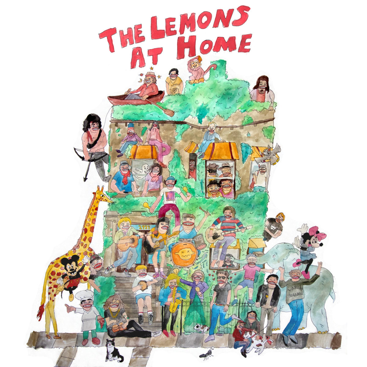 The Lemons - At Home LP