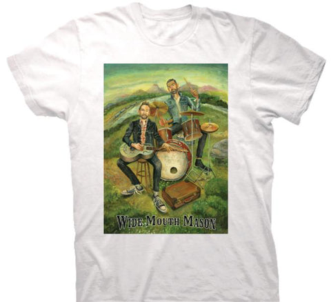 Wide Mouth Mason - I Wanna Go With You T-shirt