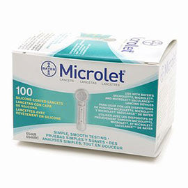Bayer Microlet Lancets - 100 ct.