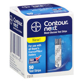 Bayer Contour Next Test Strips - 50ct