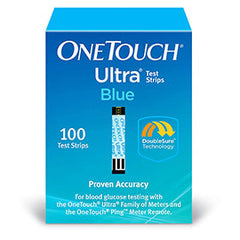 OneTouch Ultra Blue Glucose Test Strips - 100 ct.