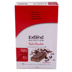 Extend Nutrition Anytime Bar - Rich Chocolate - 15 Pack