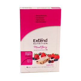 Extend Nutrition Anytime Bar - Mixed Berry - 15 Pack