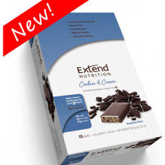 Extend Nutrition Anytime Bar - Cookies & Cream - 15 Pack