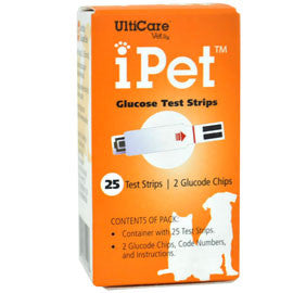 iPet Glucose Test Strips - 25ct.