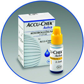 Accu-Chek Aviva Control Solution Level 1 - 2.5ml