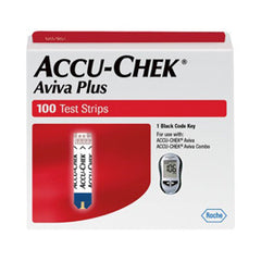 Accu-Chek Aviva PLUS Test Strips - 100ct