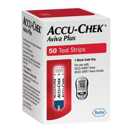 Accu-Chek Aviva PLUS Test Strips - 50ct