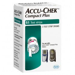 Accu-Chek Compact Plus Test Strips - 51 ct.