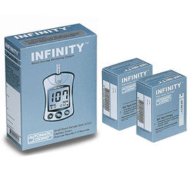 Infinity Auto Code Meter and 100 Test Strip Combo