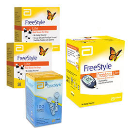 Freestyle freedom lite meter kit combo 1 meter 100 test strips freestyle freedom lite meter kit combo 1 meter 100 test strips 100 lancets aloadofball Image collections