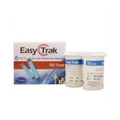 Easy Trak Glucose Test Strips - 50ct