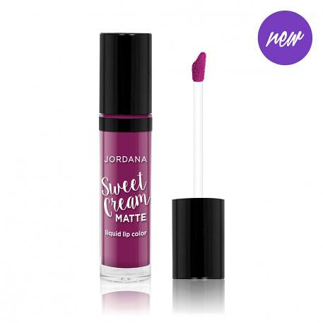 Jordana Sweet Cream Matte Liquid Lip Color - 26 Currant Jam