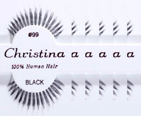 Christina lashes - 99 (12 pieces)