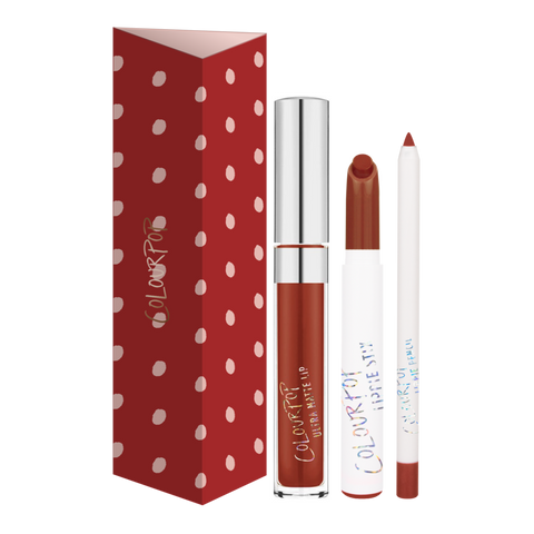 Colourpop Lip Trio - Keep It Going