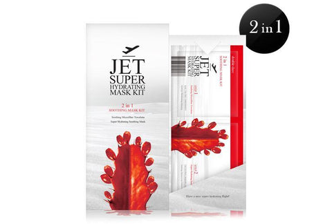JET 2 IN 1 SOOTHING MASK KIT