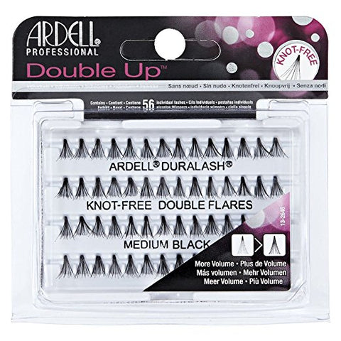Duralash Natural Knot Free Double Flares Medium Black