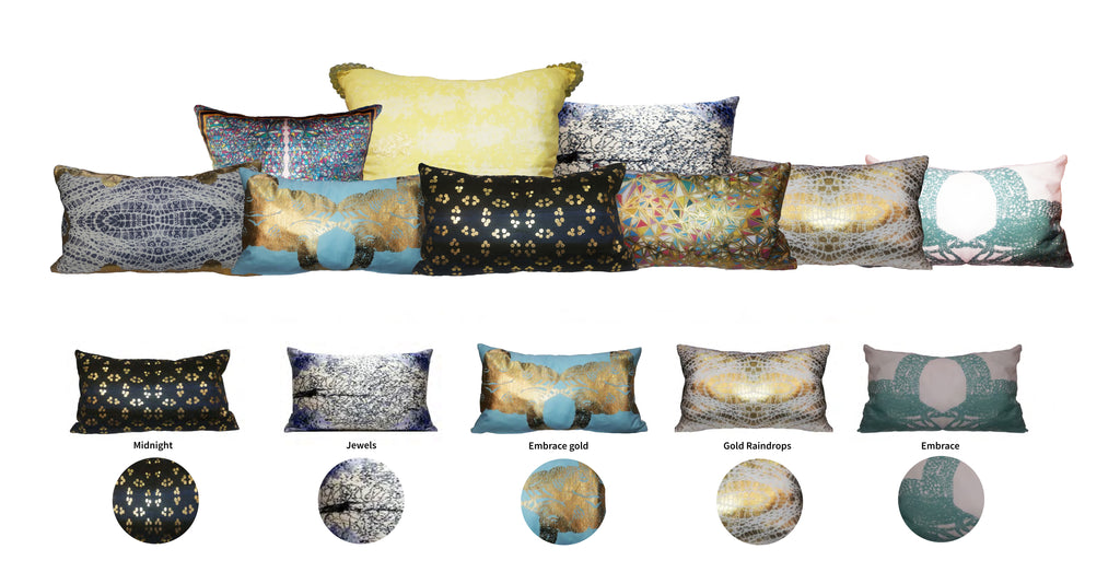 Tilayo luxury scatter cushions