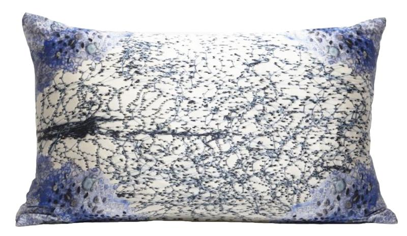 Silk scatter cushion