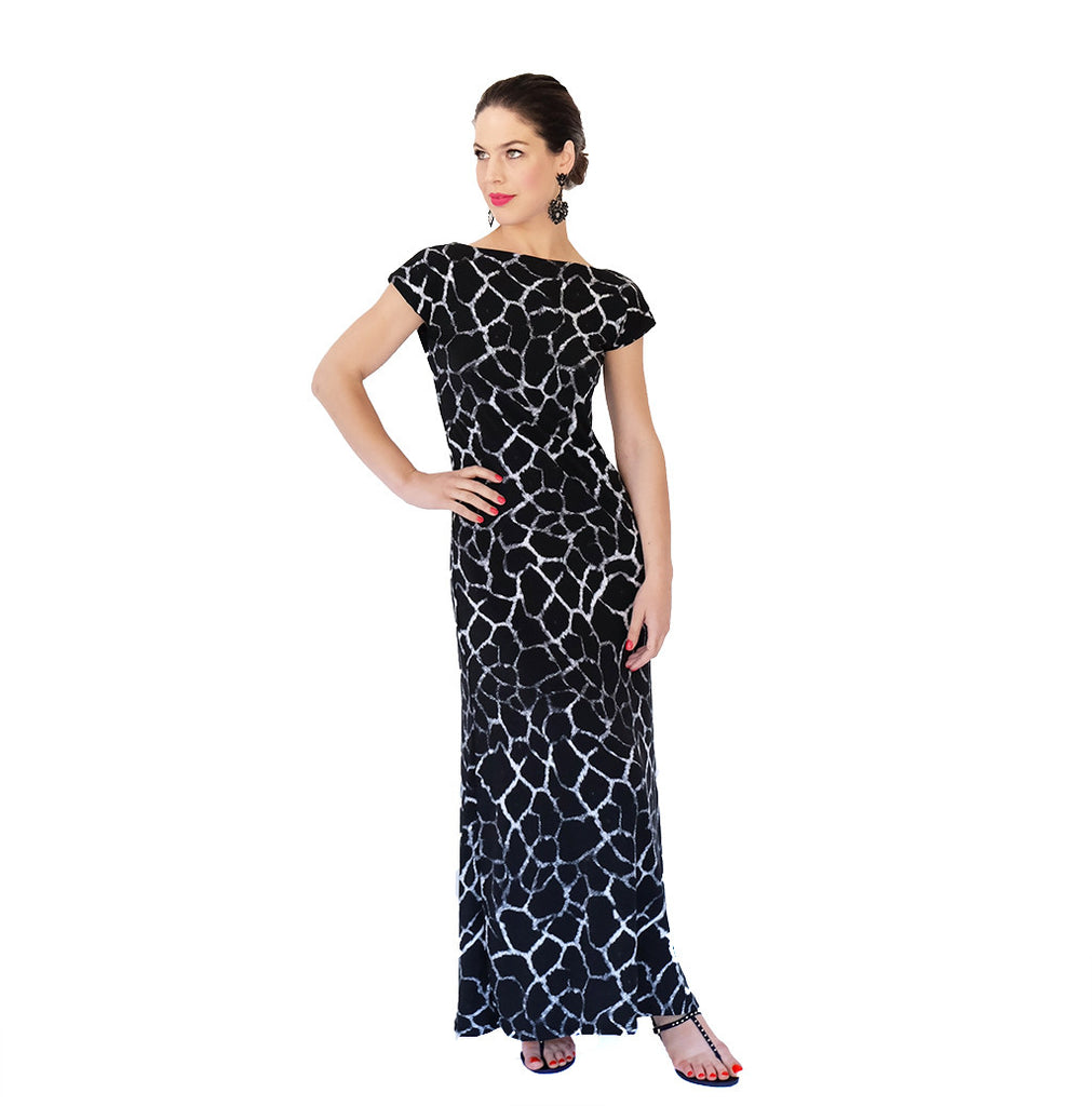 Marilyn Maxi Dress |  Animal Print