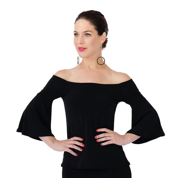 Off Shoulder Bell Top